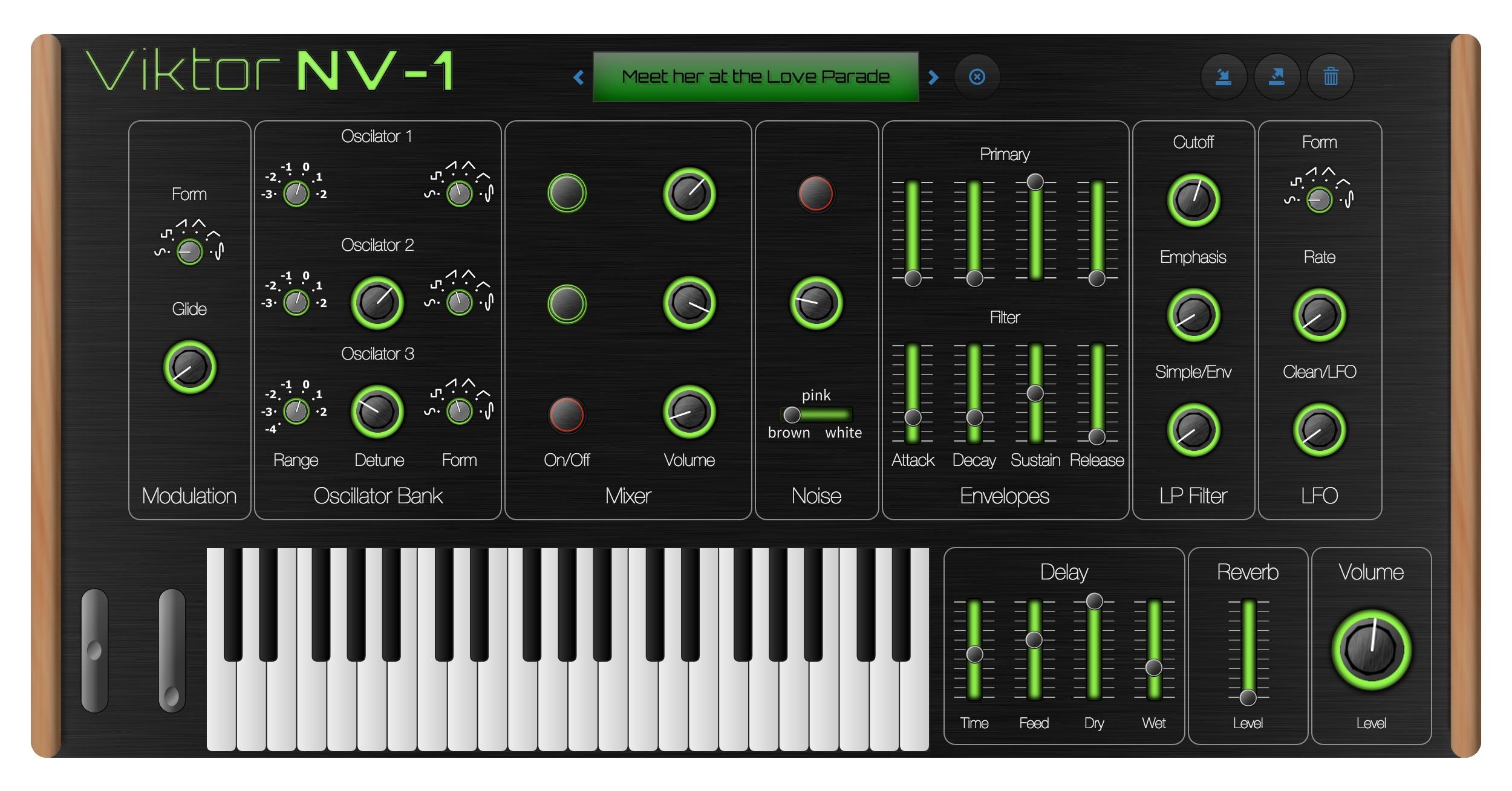 Viktor NV-1 Synthesizer